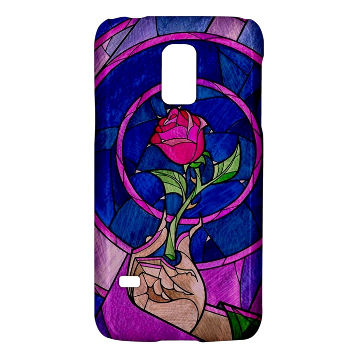 Enchanted Rose Stained Glass Galaxy S5 Mini