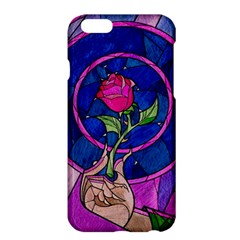 Enchanted Rose Stained Glass Apple iPhone 6 Plus/6S Plus Hardshell Case