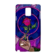 Enchanted Rose Stained Glass Samsung Galaxy Note 4 Hardshell Case