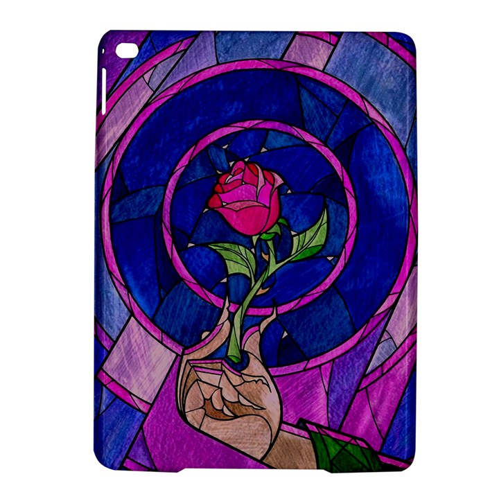 Enchanted Rose Stained Glass iPad Air 2 Hardshell Cases
