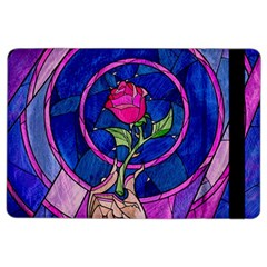 Enchanted Rose Stained Glass Ipad Air 2 Flip