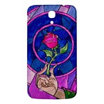 Enchanted Rose Stained Glass Samsung Galaxy Mega I9200 Hardshell Back Case Front