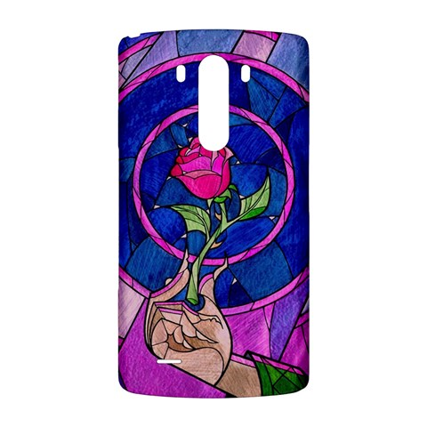 Enchanted Rose Stained Glass LG G3 Back Case