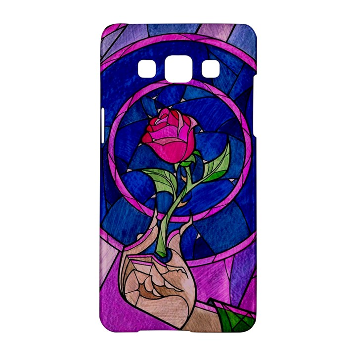 Enchanted Rose Stained Glass Samsung Galaxy A5 Hardshell Case