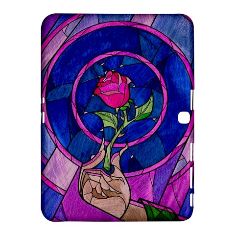Enchanted Rose Stained Glass Samsung Galaxy Tab 4 (10.1 ) Hardshell Case