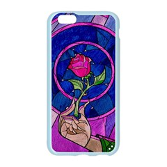 Enchanted Rose Stained Glass Apple Seamless iPhone 6/6S Case (Color)