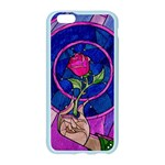 Enchanted Rose Stained Glass Apple Seamless iPhone 6/6S Case (Color) Front