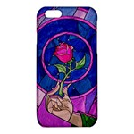 Enchanted Rose Stained Glass iPhone 6/6S TPU Case Front