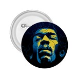 Gabz Jimi Hendrix Voodoo Child Poster Release From Dark Hall Mansion 2.25  Buttons Front