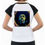 Gabz Jimi Hendrix Voodoo Child Poster Release From Dark Hall Mansion Women s Cap Sleeve T Back