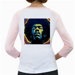 Gabz Jimi Hendrix Voodoo Child Poster Release From Dark Hall Mansion Girly Raglans Back