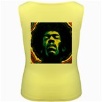Gabz Jimi Hendrix Voodoo Child Poster Release From Dark Hall Mansion Women s Yellow Tank Top Back