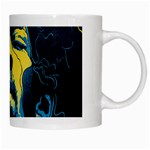 Gabz Jimi Hendrix Voodoo Child Poster Release From Dark Hall Mansion White Mugs Right