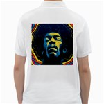 Gabz Jimi Hendrix Voodoo Child Poster Release From Dark Hall Mansion Golf Shirts Back