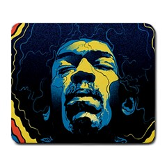 Gabz Jimi Hendrix Voodoo Child Poster Release From Dark Hall Mansion Large Mousepads