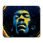 Gabz Jimi Hendrix Voodoo Child Poster Release From Dark Hall Mansion Large Mousepads Front