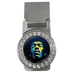 Gabz Jimi Hendrix Voodoo Child Poster Release From Dark Hall Mansion Money Clips (CZ)  Front