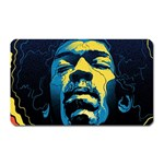 Gabz Jimi Hendrix Voodoo Child Poster Release From Dark Hall Mansion Magnet (Rectangular) Front