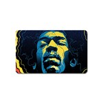 Gabz Jimi Hendrix Voodoo Child Poster Release From Dark Hall Mansion Magnet (Name Card) Front
