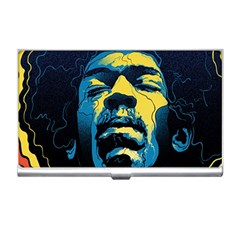 Gabz Jimi Hendrix Voodoo Child Poster Release From Dark Hall Mansion Business Card Holders