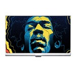 Gabz Jimi Hendrix Voodoo Child Poster Release From Dark Hall Mansion Business Card Holders Front