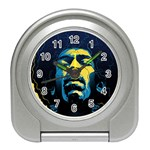 Gabz Jimi Hendrix Voodoo Child Poster Release From Dark Hall Mansion Travel Alarm Clocks Front