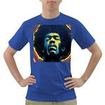 Gabz Jimi Hendrix Voodoo Child Poster Release From Dark Hall Mansion Dark T-Shirt Front