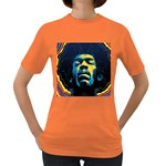 Gabz Jimi Hendrix Voodoo Child Poster Release From Dark Hall Mansion Women s Dark T-Shirt Front