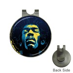 Gabz Jimi Hendrix Voodoo Child Poster Release From Dark Hall Mansion Hat Clips with Golf Markers Front