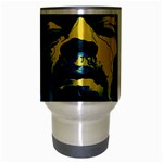 Gabz Jimi Hendrix Voodoo Child Poster Release From Dark Hall Mansion Travel Mug (Silver Gray) Center