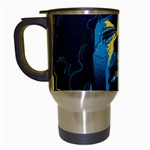 Gabz Jimi Hendrix Voodoo Child Poster Release From Dark Hall Mansion Travel Mugs (White) Left