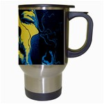Gabz Jimi Hendrix Voodoo Child Poster Release From Dark Hall Mansion Travel Mugs (White) Right