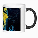 Gabz Jimi Hendrix Voodoo Child Poster Release From Dark Hall Mansion Morph Mugs Right