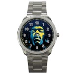 Gabz Jimi Hendrix Voodoo Child Poster Release From Dark Hall Mansion Sport Metal Watch Front
