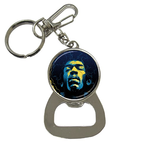Gabz Jimi Hendrix Voodoo Child Poster Release From Dark Hall Mansion Bottle Opener Key Chains