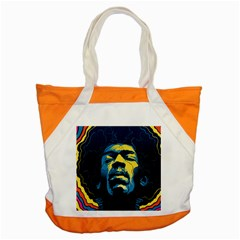 Gabz Jimi Hendrix Voodoo Child Poster Release From Dark Hall Mansion Accent Tote Bag