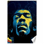 Gabz Jimi Hendrix Voodoo Child Poster Release From Dark Hall Mansion Canvas 12  x 18   18 x12 Canvas - 1