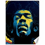 Gabz Jimi Hendrix Voodoo Child Poster Release From Dark Hall Mansion Canvas 18  x 24   24 x18 Canvas - 1