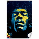 Gabz Jimi Hendrix Voodoo Child Poster Release From Dark Hall Mansion Canvas 24  x 36  36 x24 Canvas - 1
