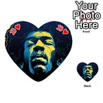 Gabz Jimi Hendrix Voodoo Child Poster Release From Dark Hall Mansion Playing Cards 54 (Heart)  Front - Heart10