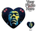 Gabz Jimi Hendrix Voodoo Child Poster Release From Dark Hall Mansion Playing Cards 54 (Heart)  Front - DiamondA