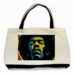 Gabz Jimi Hendrix Voodoo Child Poster Release From Dark Hall Mansion Basic Tote Bag (Two Sides) Back