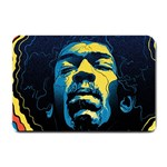 Gabz Jimi Hendrix Voodoo Child Poster Release From Dark Hall Mansion Small Doormat  24 x16 Door Mat - 1