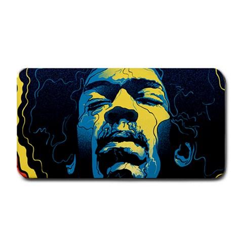 Gabz Jimi Hendrix Voodoo Child Poster Release From Dark Hall Mansion Medium Bar Mats