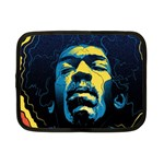 Gabz Jimi Hendrix Voodoo Child Poster Release From Dark Hall Mansion Netbook Case (Small)  Front