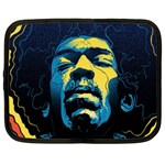 Gabz Jimi Hendrix Voodoo Child Poster Release From Dark Hall Mansion Netbook Case (Large) Front