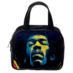 Gabz Jimi Hendrix Voodoo Child Poster Release From Dark Hall Mansion Classic Handbags (One Side) Front