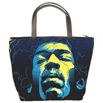 Gabz Jimi Hendrix Voodoo Child Poster Release From Dark Hall Mansion Bucket Bags Back