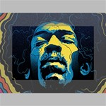 Gabz Jimi Hendrix Voodoo Child Poster Release From Dark Hall Mansion Mini Canvas 6  x 4  6  x 4  x 0.875  Stretched Canvas