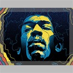 Gabz Jimi Hendrix Voodoo Child Poster Release From Dark Hall Mansion Canvas 16  x 12  16  x 12  x 0.875  Stretched Canvas